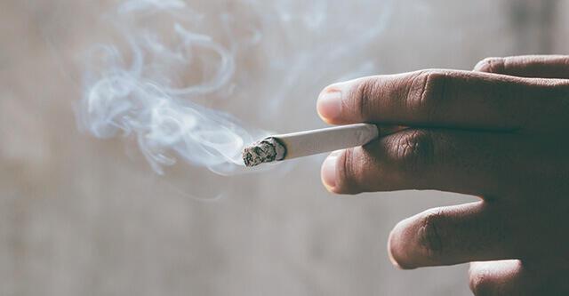 タバコはアンモニア群の塊